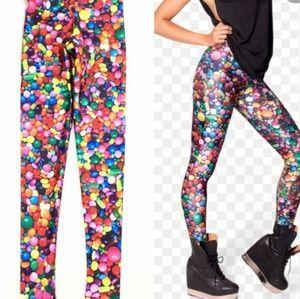 Zara Terez Candy Print Leggings Sz XL READ
